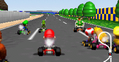 Nintendo 64 Mario Kart 64 The Sounds Resource