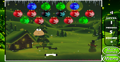 Pou Christmas Shooter