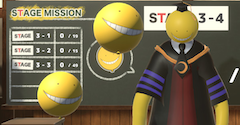 Assassination Classroom VR Balloon Challenge Time