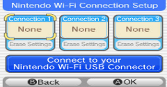 Nintendo Wi-Fi Connection Setup