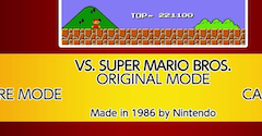 Arcade Archives Vs. Super Mario Bros